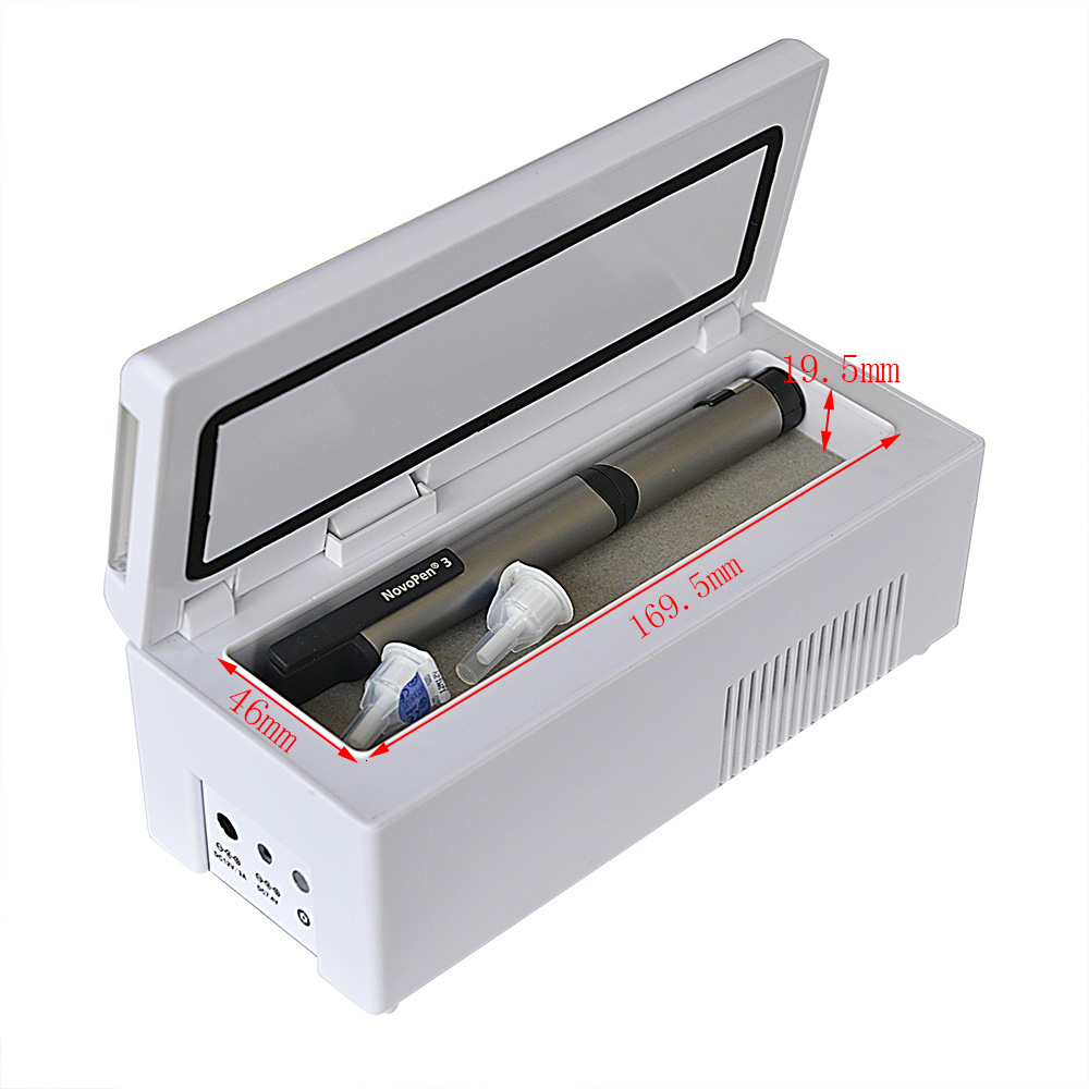 Portable Insulin cooler box for diabetes store insulin medicine store insulin refrigerator BIC 30