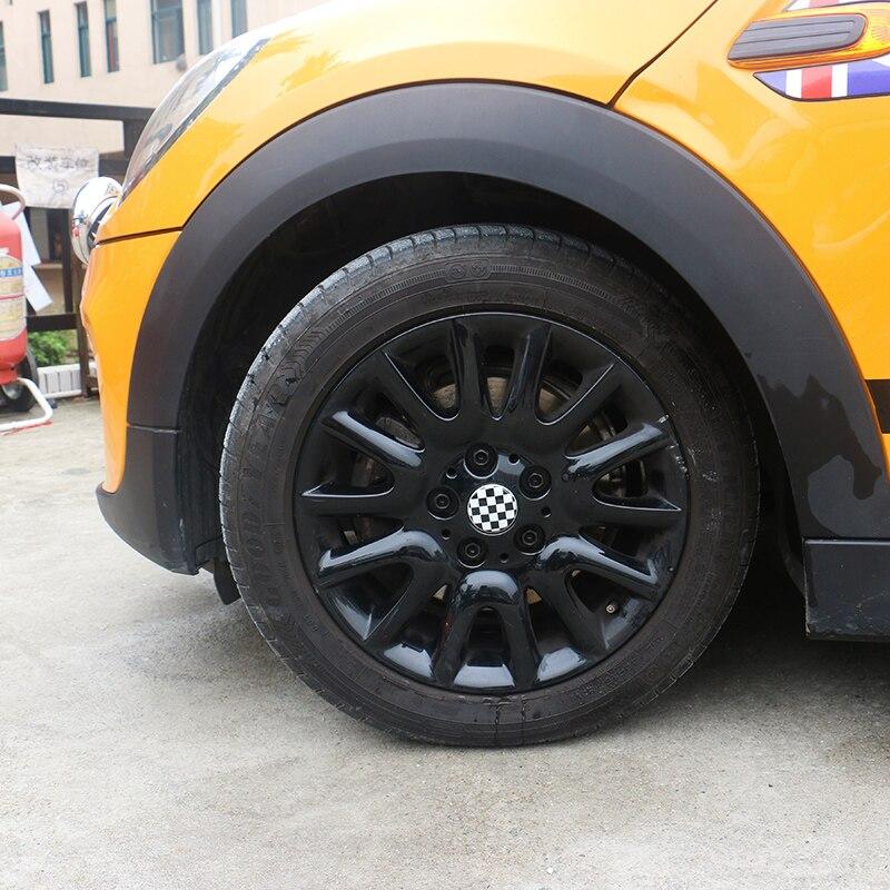 1set 4pcs 52mm aluminum alloy car wheel hub center cap