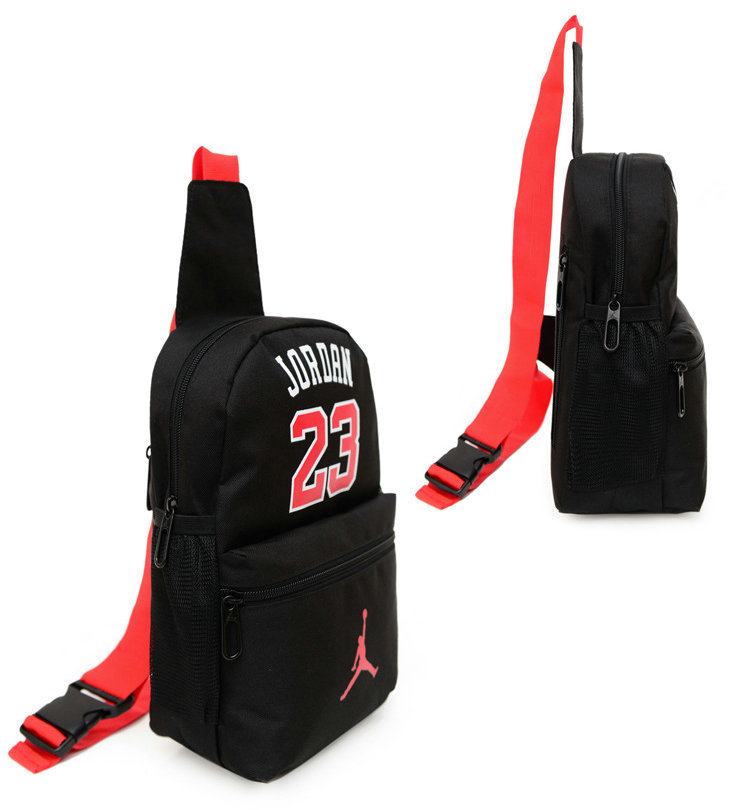 f1a2da75c23f Outdoor Sports Shoulder Bag Man And Women Bag Messenger Chest Wrist 23  Jordan Bag Pockets Female KoreanWave في Outdoor Sports Shoulder Bag Man And Women  Bag ...
