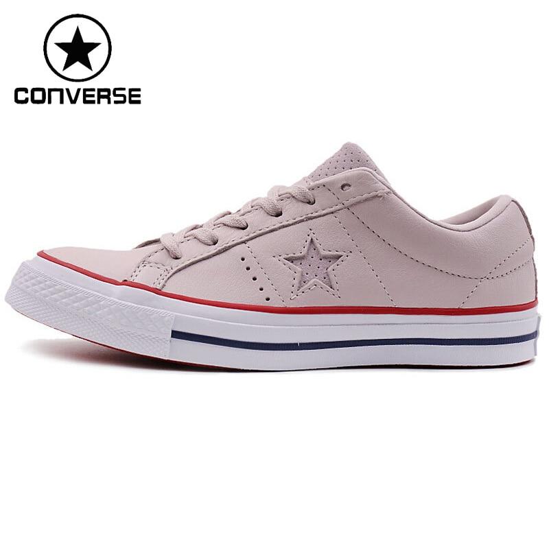 Оригинальный Новое поступление 2018 Converse One Star Для женщин Скейтбординг обувь холст кроссовки ...