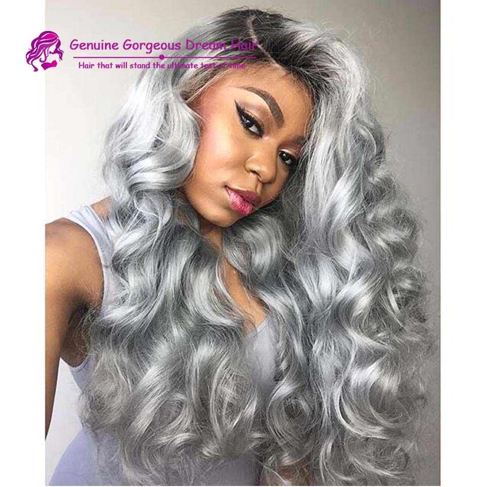 Cheap Grey Hair Wigs 58