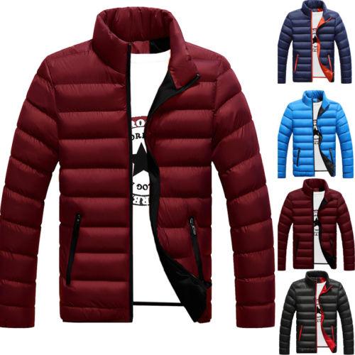 Men's Packable Down Jacket Men's Ultra Lightweight Packable Puffer Down Jacket Men Lightweight Stand Collar Packable Down Jacket