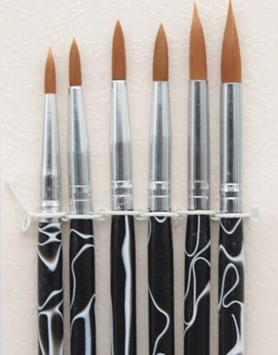 Hot Manufacturer Direct Kolinsky Nail Art Brush Acrylic Beauty 8