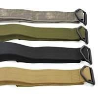 군사 남성 델타 육군 두꺼워 직물 캔버스 전술 군사 야외 스포츠 벨트 허리띠 도매