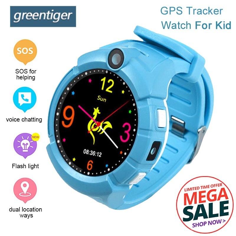 Q528 GPS Baby Watch With Camera Flashlight Smart Watch phone