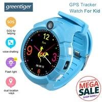 Greentiger Q360 Kids Smart Watch GPS Phone Positioning WIFI Location smartwatch SOS Anti Lost Monitor Tracker PK Q100 Q90 Q50