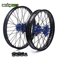 BIKINGBOY Front Rear 21 19 Wheel Rim Hub for Yamaha YZ250 YZ450F YZF 250 YZ F 450 09 10 11 12 13 14 15 16 17 2018 Motocross MX