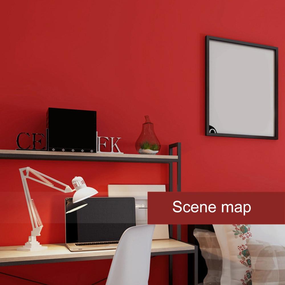 Papier peint rouge papier peint moderne fond de couleur unie revêtement mural PVC papier peint décor à la maison