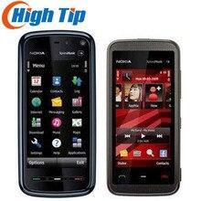 Купить онлайн Оригинальный Nokia 5230 телефон, quad-band, 2.0MP камеры, GPS телефон, 3.2 «Экран, FM, Восстановленное Бесплатная доставка