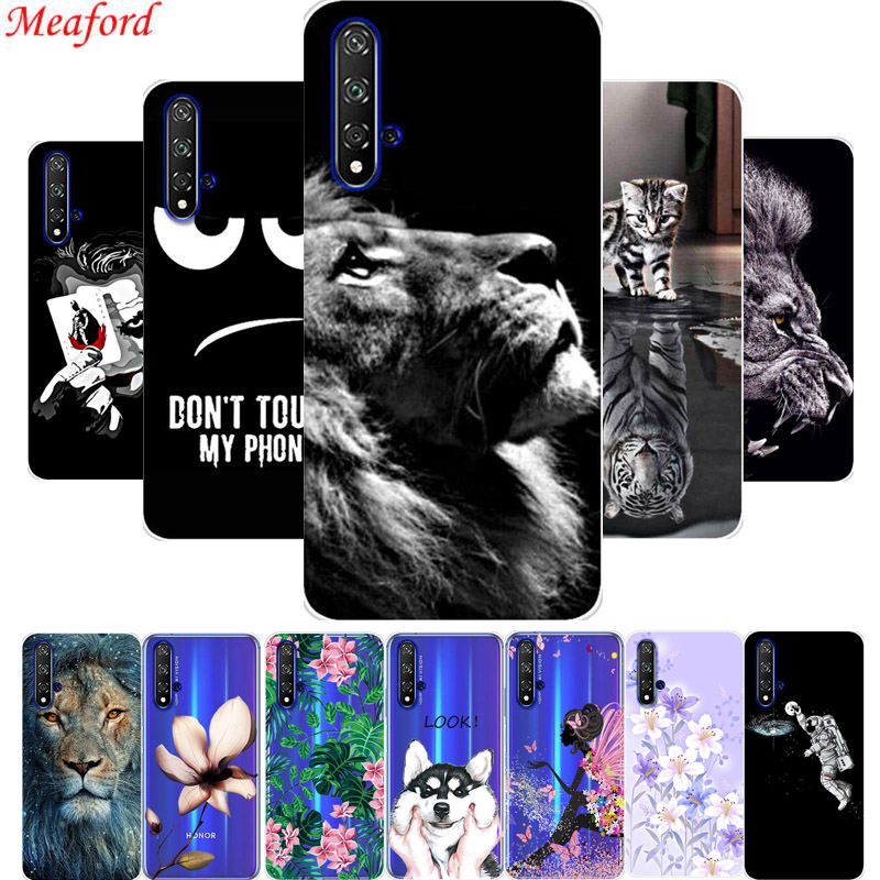 6.26'' Funda For Huawei Honor 20 Case Honor20 Cover Silicone Soft TPU Phone Case For Huawei Honor 20 Case Cool Painting Coque