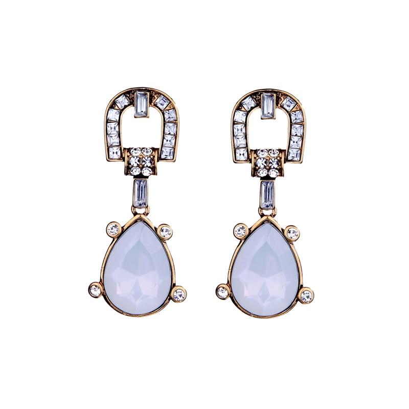 b90bdcd0d0aad Интернет-Jewellery целомудренной акриловые Tear Висячие серьги оптовая  продажа бренд Дизайн простой Повседневное Серьги для Для женщин жизни