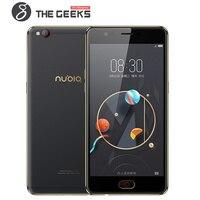 Zte Нубии 5,5 дюймов сотовый телефон M2 LITE 3 ГБ + 6 4G B Встроенная память/M2 4G B + 6 4G B/4G + 128G rom 2.5D Стекло AMOLED FHD Экран Смартфон Android 4G