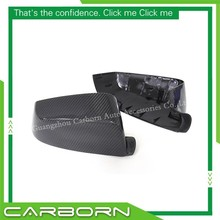 For BMW 5 Series F07 10-13, 6 F12/F13 11-13, 7 F01/F02 09-13 Replacement Type Carbon Fiber Body Side Mirror Cover