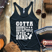 2019 gotta have a fiddle in the band tank country music tanks sunrise womens top rodeo tops  summer vacation clothes