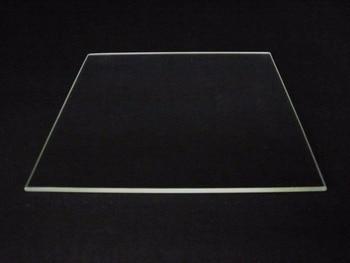 Borosilicate Glass Plate Bed Polished Edge 310mm x 370mm for Tevo Tornado 3D Printer heated bed