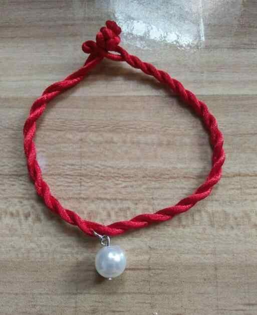 Sl 0286 Simple cuerda trenzada China clásica cable de la suerte cuerda roja moda regalo pulsera hombres mujeres pulsera joyería fábrica