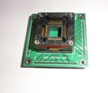 QFP64 TQFP64 LQFP64 met PCB Test Burn In Socket Adapter Enplas OTQ 64 0.8 01