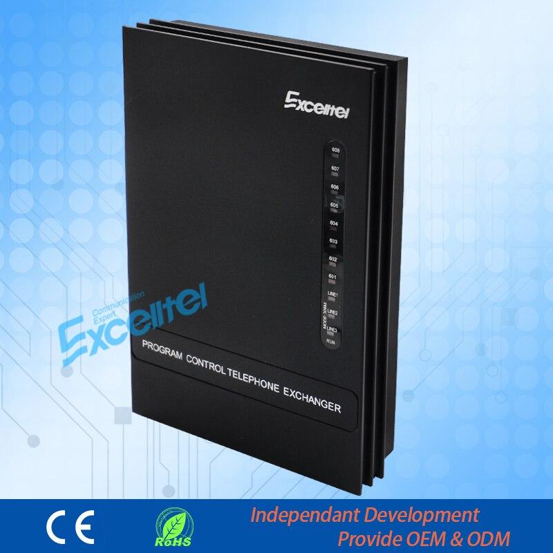 Excellent système téléphonique de programmation facile/bureau PBX/MD308/3 PSTN ligne 8 extension Mini pabx - 4