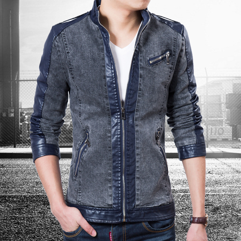 2015 Top Quality New Spring Jeans Jacket Brand Fashion Designer ...