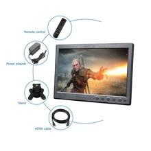 10,1 дюймов Новый Портативный Дисплей BNC VGA HDMI Вход для PS3/PS4 CCTV камеры видеонаблюдения ЖК-дисплей Экран со встроенной монитор с динамиком