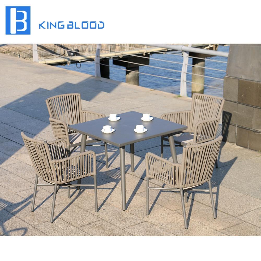100% handmade Outdoor Rattan Dining Chair and table handmade 100