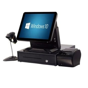 ComPOSxb Windows pos terminal 15 inch point of sales system terminal touch screen pos terminal restaurant ordering machine