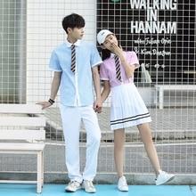 Japanese School Uniform JK Girls  Navy Sailor Suit For Boy school uniform Girl Autumn