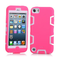 Fundas Back Cover For Apple IPod Touch 5 Cell Phone Skin Accessories Silicone Armor Combo Case