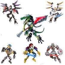 CHIMAED, фигурки супер героев, строительные блоки, оружие, цигун, Легендарная модель животных, кирпичи, совместимые с Legoings, игрушки для детей