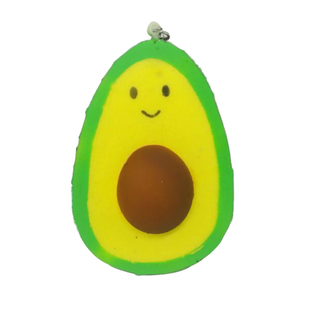 Simulation Avocado Cake Squeeze Toy Squishy Scented Squishy Slow Rising Jumbo Collection Stress Relief Toy Kawaii Stationery A1