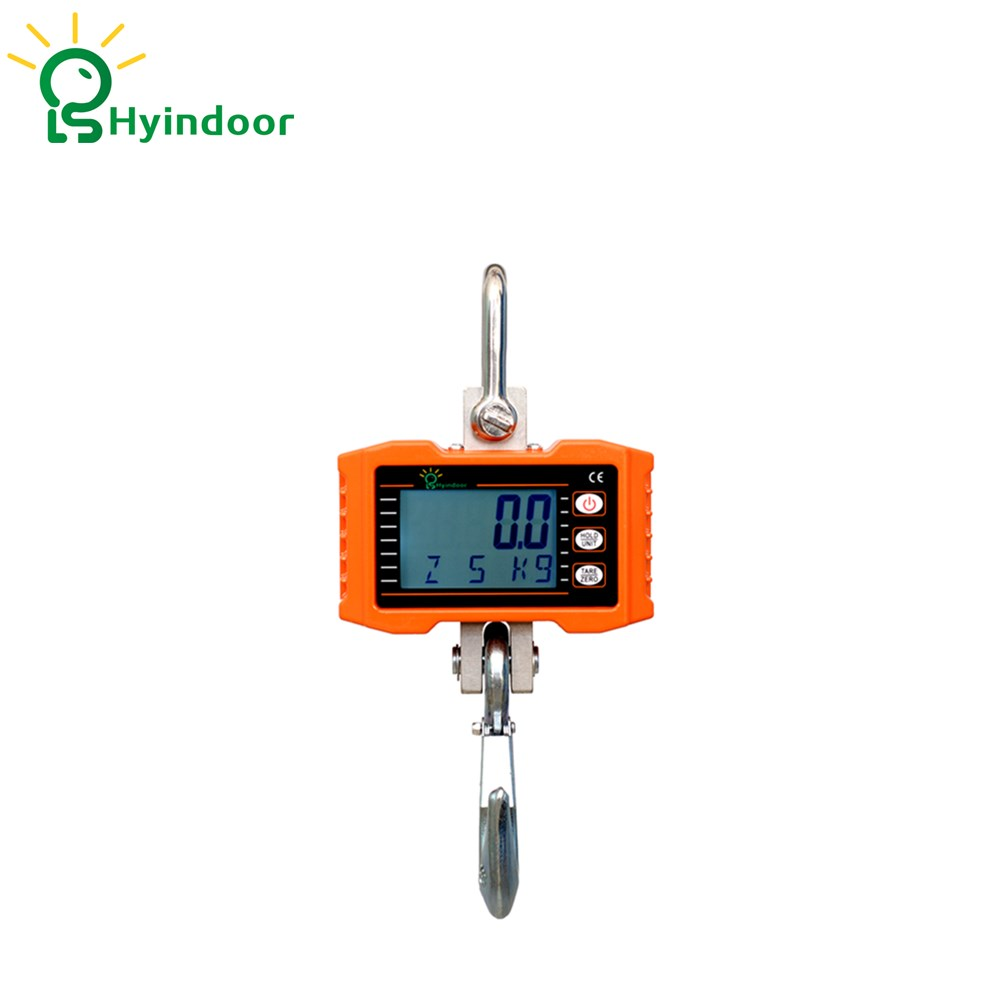 300KG Aluminum Digital Crane Scale Heavy Duty Compact Hanging Scale Hoists Scale дырокол deli heavy duty e0130
