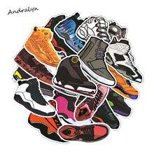 100pcs/set Stickers Jordan SNEAKER fashion brand AJ cartoon high quality waterproof For Suitcase Refrigerator skateboard laptop