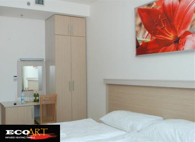 4 pieces 720W Customized Design Painting Infrared Heater Panel 600*1200mm for Home Office Salon цена и фото