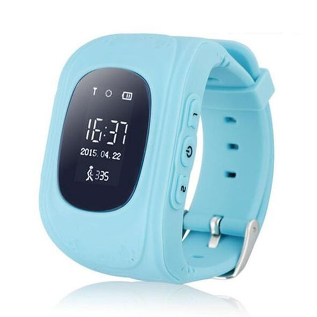 Hot Smart Kid Safe GPS Wristwatch SOS Call Location Finder Locator Tracker for Kid Child Anti Lost Monitor Baby Gift Q50 VS DZ09