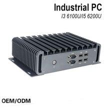 6 gen mini pc windows 10 intel nuc pc barebone компьютер intel Core i3 6100U 2 ГГц HD 520/5500 Графика 4 К HTPC wifi HDMI VGA