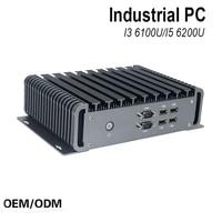 6 Gen Mini PC Windows 10 Intel Nuc Pc Barebone Computer Intel Core I3 6100U 2GHz