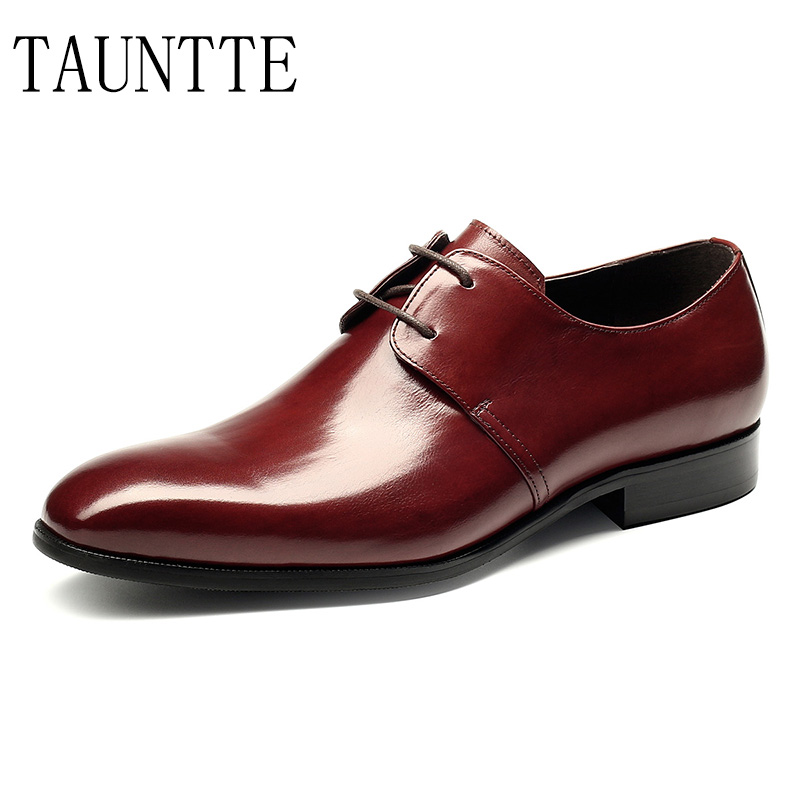 2018 New Handmade Genuine Leather Wedding Derby Shoes Men Office Formal Shoes Fashion Bussiness Casual Shoes 2017 new autumn winter british retro men shoes zipper leather breathable sneaker fashion boots men casual shoes handmade