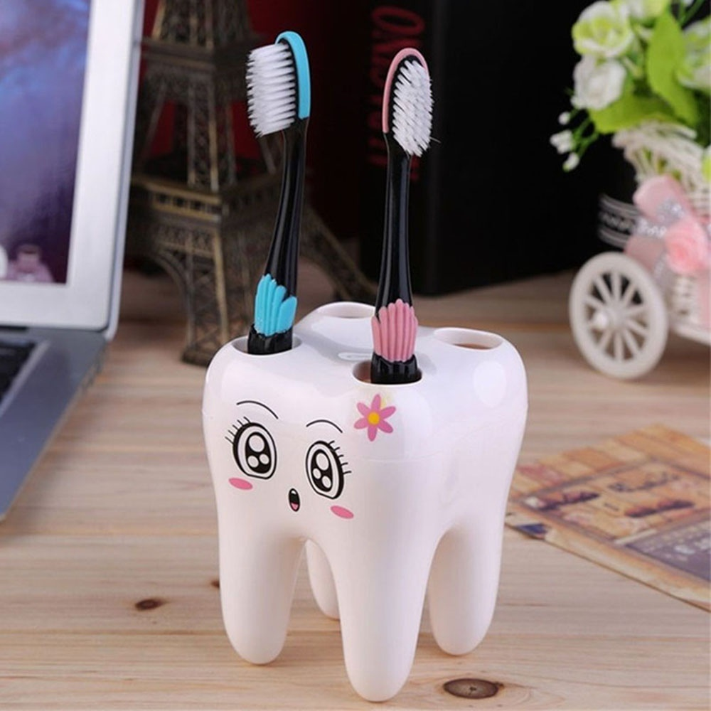 Teeth Style Toothbrush Holder 1