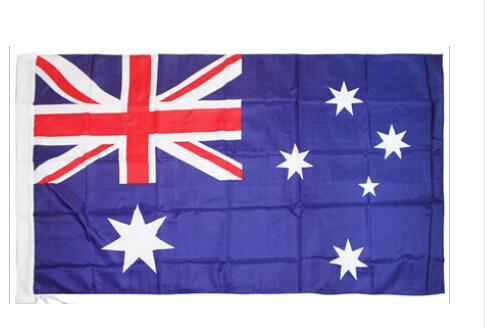 Австралийский баннер 3 фута x 5 футов, подвесной флаг из полиэстера, австралийский Национальный флаг, уличный и комнатный баннер 150x90 см для пр...