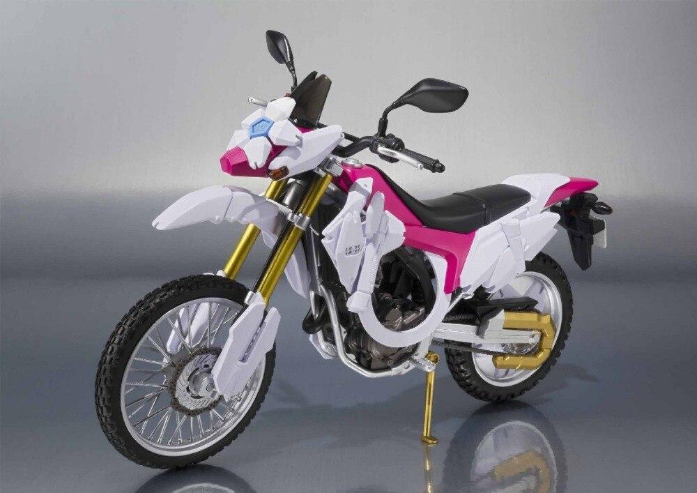 Japan Kamen Rider Gaim Original BANDAI Tamashii Nations SHF/ S.H.Figuarts Toy Action Figure Bike - Sakura Hurricane