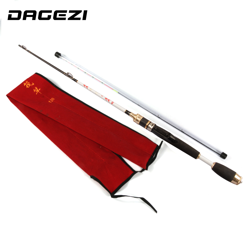 DAGEZI EVA handle lure rod 1.2M fishing rod ultralight spinning rods 2-6LB line weight ultra light spinning fishing rod crony master mass702m s bass 2pieces spinning rods 7 0 2 13m 8 16g lure weight 6 14lb line class spinning rod