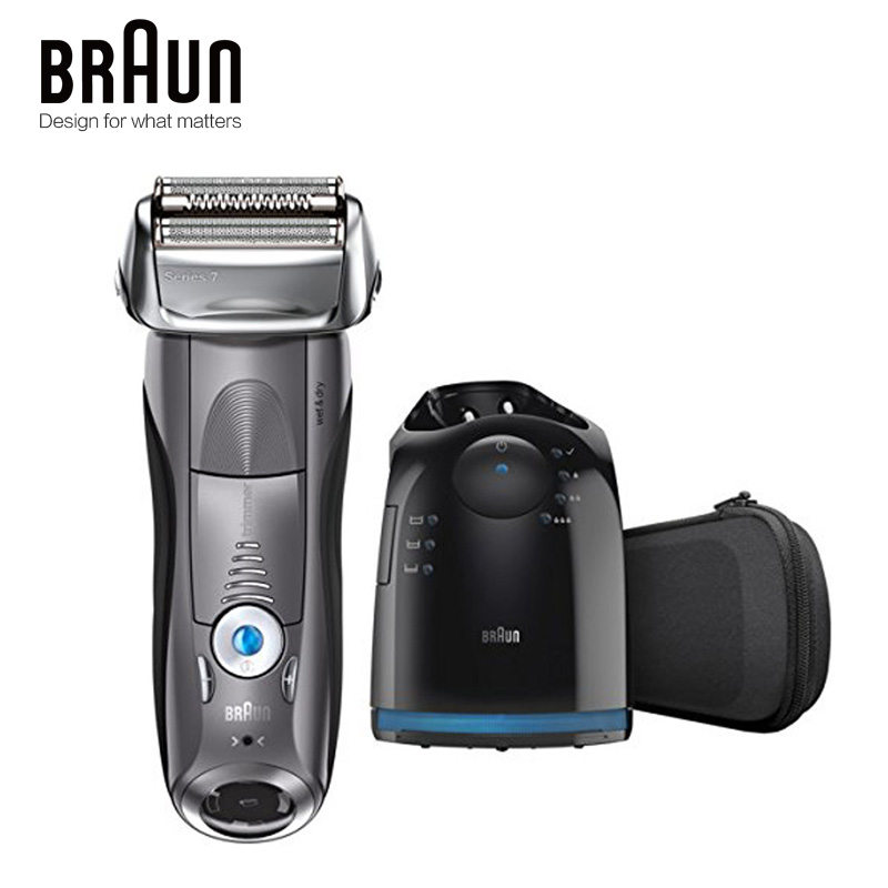 Braun Electric Shaver 7865CC For Men Rechargeable Series 7 Wholebady Washing Reciprocating Shaving Machine Straight Razor