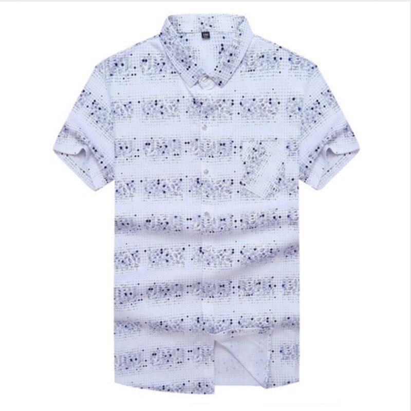 10XL 8XL 6XL 5XL New Cotton Linen summer Loose Fit Casual Shirts short Sleeve solid Shirt Social Men Dress Shirts chemise homme