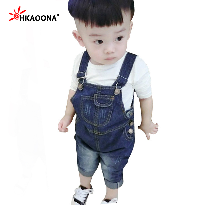 c1623f01bd3 Kids Denim Rompers Spring Summer Fashion Cowboy Suspenders For Boys Girls  Jeans Jumpsuit Baby Bib Denim Overalls Kids Clothes