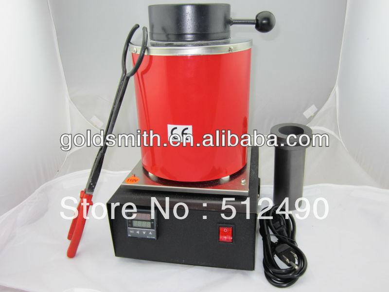 купить 220V/2KG gold melting equipment,electric smelter,with extra 1pc 2kg crucible &plier онлайн