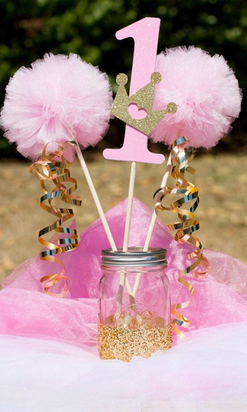 Organza Tulle Table Skirt DIY Fabric Spool Tutu Party Birthday Wrap ...