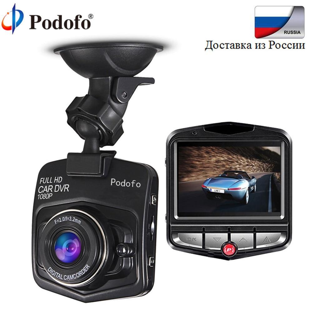 Podofo мини Видеорегистраторы для автомобилей Камера регистраторы Full HD 1080 P видео регистратор Ночное видение автомобиля Камера g-сенсор видео регистратор тире Камера