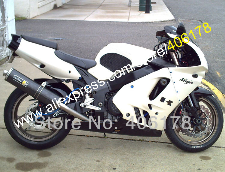 Hot Sales,White Black for KAWASAKI Ninja ZX-9R 94-97 ZX 9R 1994 1995 1996 1997 ZX9R 1994-1997 ZX-9R 94 95 96 97 ABS Fairing