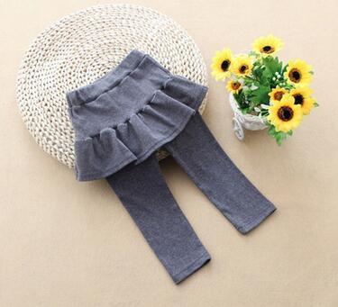 Girl Legging Skirt Pants Cake Skirt Baby Girl Spring Autumn Warm Leggings Children's Girls Skirt Pant Bootcut For 2 5 Years Kid by Yaoyao Bear