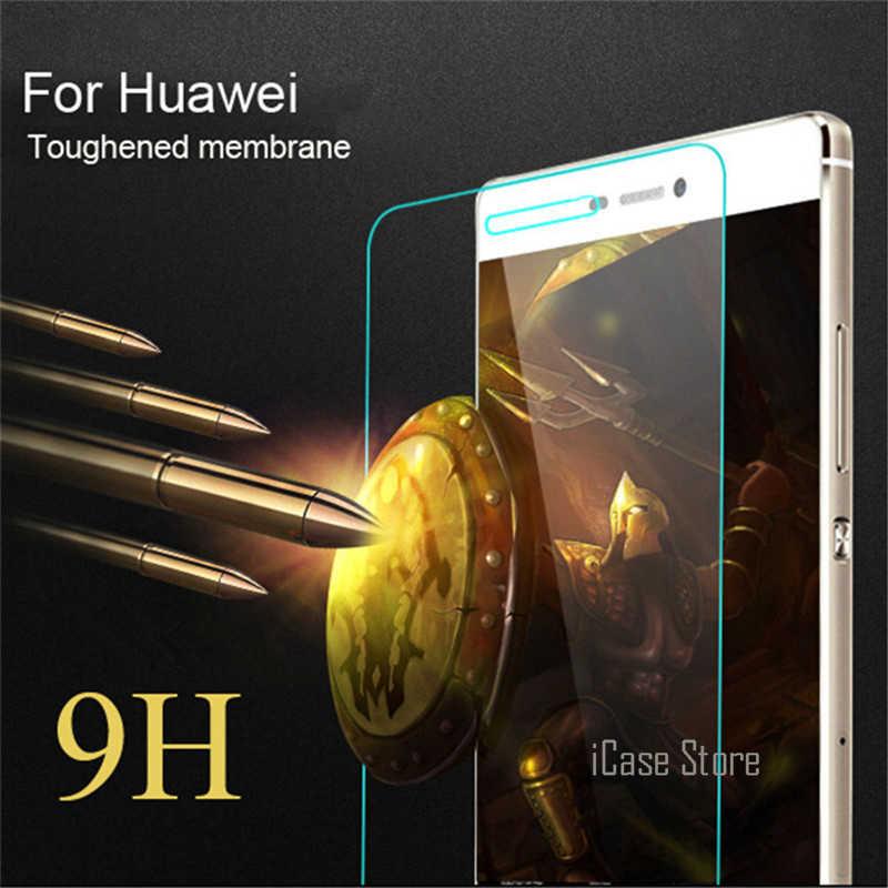 P10 9 שעתי מזג זכוכית סרט מגן מסך עבור Huawei לייט P9 לייט נובה P6 P7 P8 2017 Duos לייט לייט Honor 8 מגן Case